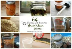 64 Tips, Tricks, & Recipes for a Green Clean Home - Girl Meets Nourishment