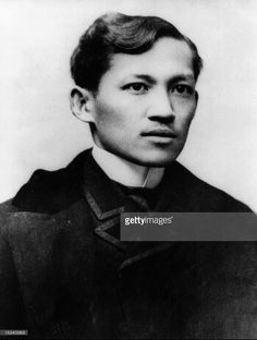A portrait of Philippine national hero and author Jose Rizal (1861 - 1896) who was executed by the Spanish government for his subversive writings, late nineteenth century.
