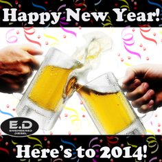 Happy New Year - From Engineered Diesel! #happynewyear #2014 #newyear #engineereddiesel #engineeredd
