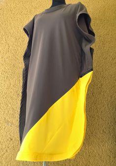 upper palatinate rocks: WOMEN 2014 jersey dress olive/yellow
