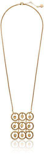 "Trina Turk Nature Lab Gold-Plated Vintage Ring Pendant Necklace, 18"" Trina Turk http://www.amazon.com/dp/B00MXYR270/ref=cm_sw_r_pi_dp_JdgEvb1HRHY4S"