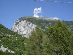 The mountains around Agana