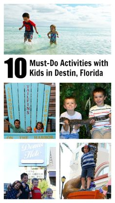 10  must-do activities with kids in Destin, Florida