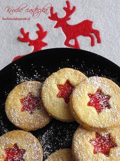 Kruche ciasteczka swiateczne Christmas Deserts, Christmas Dishes, Christmas Baking, Cookie Desserts, Cookie Recipes, Dessert Recipes, Biscuits, Delicious Desserts, Yummy Food