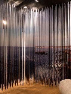 Constructed landscape Harbourfront's Breathtaking: Constructed Landscapes exhibition questioned the role of architecture in experiencing the natural world.Lenticular Curtain was the response of Plant...