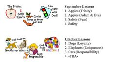 Free Christian Preschool Lessons for an Entire Year! | Free Homeschool Deals ©