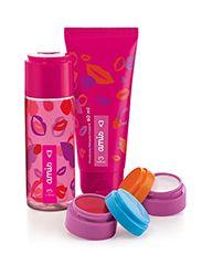 Presente Natura Amis - Desodorante Colônia + Balm Labial + Glitter Iluminador + Desodorante Hidratante + Embalagem