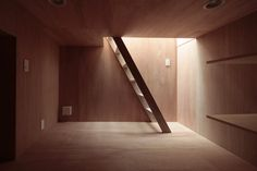 """House With Eaves And An Attic by ON design partners """"Location: Tokyo, Japan"""" 2012"""