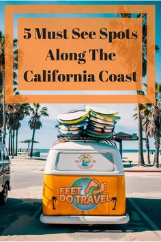 A trip along the USA California Coast is something everyone should do in their lifetime. Known as the Golden Coast, with hundreds of miles of stunning coastline, where should you visit? Here are our 5 must see spots along the California Coast
