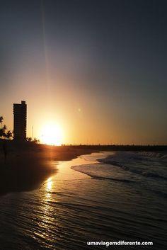 fortaleza, por do sol, nordeste, sol, sun, skyline, mar, praia, nordeste, brasil, brazil, dicas de viagem, um dia em fortaleza
