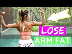 How To Lose Arm Fat   Rebecca Louise - YouTube