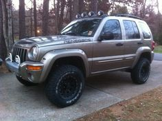 2008 Jeep Liberty Exhaust Flo-Master | 03' Renegade. Front Frankenlift II Premium,1 Conduit, Rear OME 948 ...