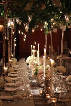 wedding table branch canopy - Google Search