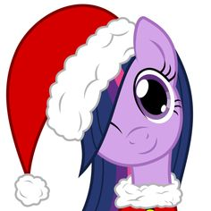 Christmas Twilight Sparkle so cute