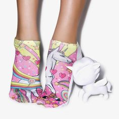 10054f9d3d908b Kawaii Unicorn Explosion Socks! 🦄 💖 Free Worldwide Shipping! A Must Have  For Every
