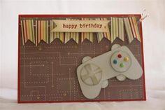 Homemade Cards for Teenage Boys   another idea for teen boys