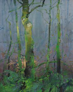 Painter's Process - Randall David Tipton December Forest 2 oil on canvas 20x16 https://www.flickr.com/photos/randalldavidtipton/sets/72157628922272595/