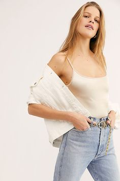 Basique Bodysuit by Intimately at Free People, Tan, XS Real Style, My Style, Daily Style, Free People Store, Daily Fashion, Leotards, Champagne, Camisole Top, One Piece