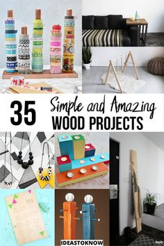 Diy Projects Using Wood, Wood Projects For Beginners, Wooden Projects, Easy Projects, Wood Crafts, Project Ideas, Woodworking Skills, Easy Woodworking Projects, Crafts To Make