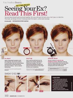 step-by-step tutorial make up for redheads