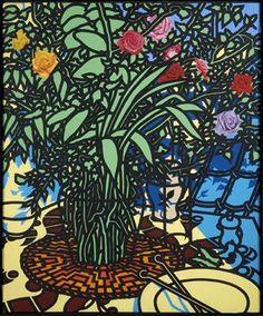 Patrick CaulfieldStudy of Roses 1976