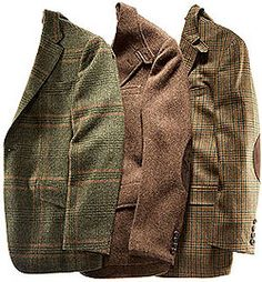 Nothing beats a man in tweed!