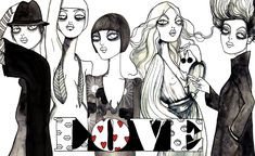 love story - big love wallpaper // cassandra rhodin...