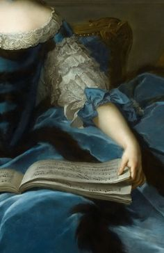 thisivyhouse - source: theladyintweed: Rococo in Detail, Jean-Marc Nattier Rococo Painting, Dress Painting, Rococo Dress, Portraits, Girl Reading, Classical Art, Detail Art, Baroque, Photos