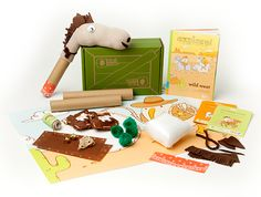 Kiwi Crate October 2014 Review and Coupon
