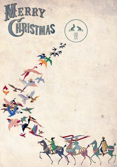 Merry Christmas from ABE THE APE (www.abetheape.es)
