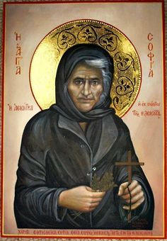 St. Myrtidiotissa or St. Sophia the Eldress of Kleisoura - May 6