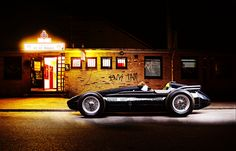 Maserati 250f by Bernd Kammerer, via Behance - Texture