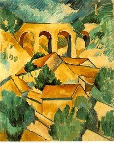 Viaduct at L'Estaque - Georges Braque