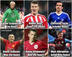 Some players of Leicester City Football Club starting XI Leicester City Football, Leicester City Fc, Marc Albrighton, Christian Fuchs, Football Jokes, Barclays Premier, Barclay Premier League, Stoke City, Aston Villa