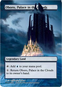 Magic The Gathering Oboro, Palace in the Clouds Proxy