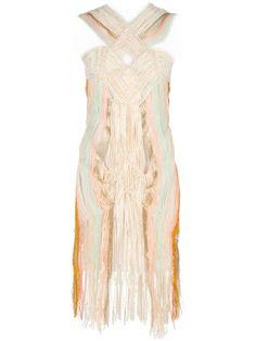 NARELLE DORE macrame dress
