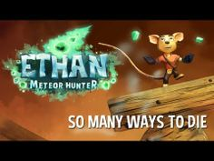 Ethan: Meteor Hunter - So many ways to die Trailer You Have Been Warned, Puzzle, Entertaining, Christmas Ornaments, Digital, Games, Holiday Decor, Classic, Stuff To Buy