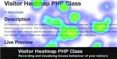 Buy Visitor Heatmap PHP Class by on CodeCanyon. Description Well nowadays, everybody can create heatmaps for his website! The Visitor Heatmap PHP class is a simple P. Heat Map, Wordpress Plugins, Ecommerce, The Visitors, Php, Social Networks, Behavior, Coding