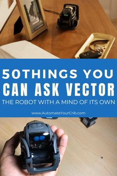 Have you heard about Vector from Anki? Do you have a Vector or Cozmo in your home? Do you know the questions or things you can ask Vector? If not, then you really should try Vector out! Robot Vector, Cozmo Robot, Philippines, Real Spy, Microsoft Cortana, Ceo Office, Germany Berlin, Spy Gadgets, Ring Doorbell