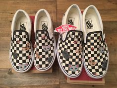 59e0f84c59 Custom Vans Hand Painted with Pet Character Personalized   Pet character