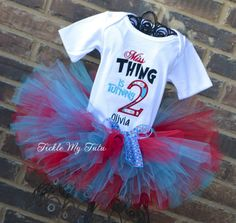Miss Thing is 1 Birthday Tutu Outfit
