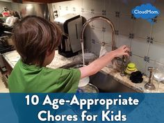 10 Age-Appropriate Chores for Kids | CloudMom