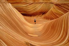 Lived in AZ most of my life, never heard of this. Must get out more. The Wave, Arizona, US is a stunning sandstone rock formation that is around 190 million years old and looks unreal