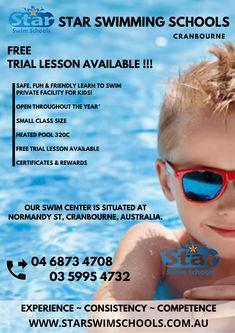 Swim School, Us Swimming, Learn To Swim, Heated Pool, Schools, Mirrored Sunglasses, Learning, Fun, Kids