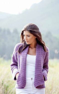 Pattern For A Fabulous Crochet Cardigan For A Perfect Look Everyday