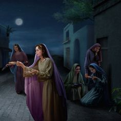 """""""Then shall the kingdom of heaven be likened to ten virgins, which took their lamps, and went forth to meet the bridegroom. Images Bible, Bible Pictures, Kingdom Of Heaven, The Kingdom Of God, Jesus Art, God Jesus, Jesus Second Coming, Christian Pictures, Saint Esprit"""