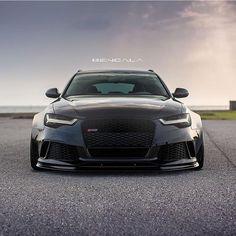 Mean Looking Audi @bengalaautodesign