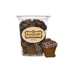 Gourmet Tails Carob Cupcakes with Sprinkles Dog Treats at PETCO ($5.09) ❤ liked on Polyvore featuring pet and animals