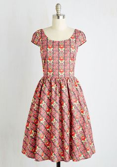 MODCLOTH TENDRIL LOVING DRESS SIZE MEDIUM FREE SHIPPING #ModCloth