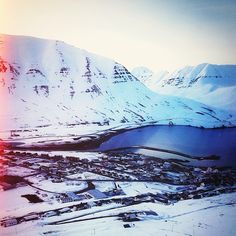 This quaint little town in the North of #Iceland is called #Olafsfjordur. Any town where you can #ski in the morning and surf in the evening has my heart. @Warren Miller Entertainment @Josh Haskins @cinemacp #nizza #Padgram